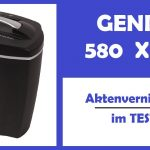 GENIE 580 XCD Aktenvernichter – Test Video