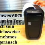 Aktenvernichter Test Fellowes 60Cs