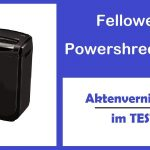 Aktenvernichter Video – Fellowes Powershred M-7C